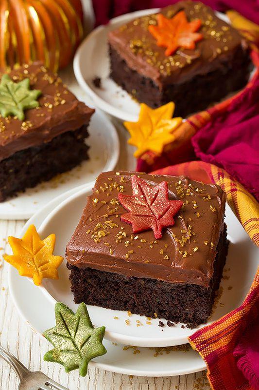 Chocolate Zucchini Cake with Chocolate Cream Cheese Frosting