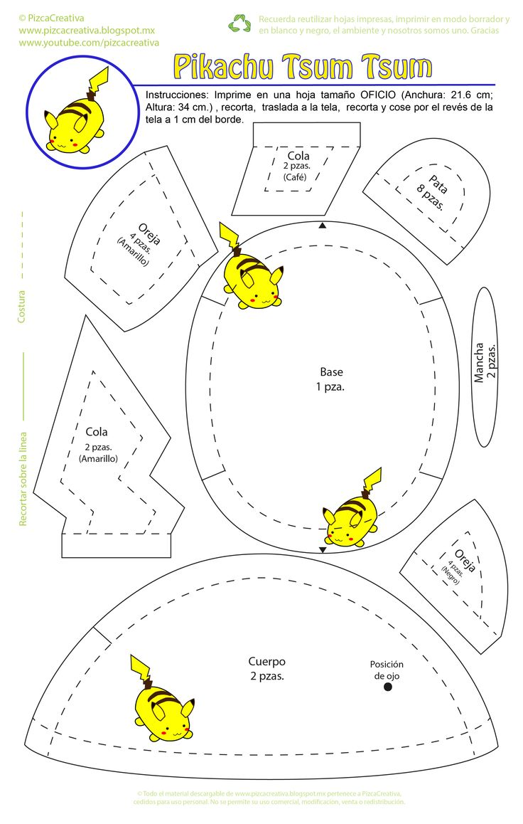 Pikachu tsum tsum