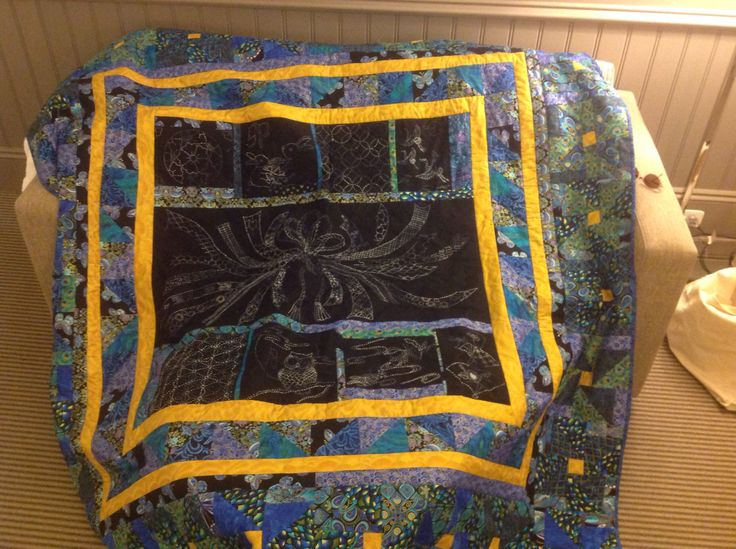 I made this quilt in celebration of my brother's 30th birthday and celebration of his graduating university.