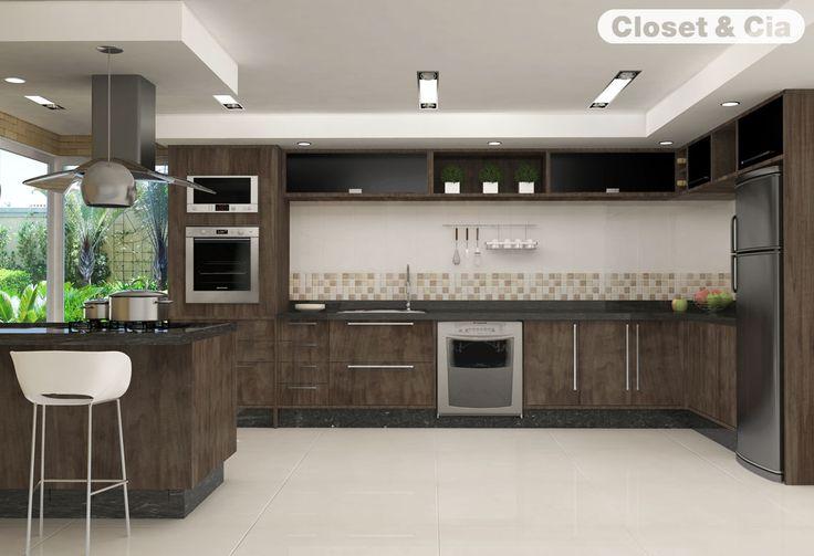 Cozinhas planejadas closet cia cozinhas planejadas - Armarios para casas pequenas ...