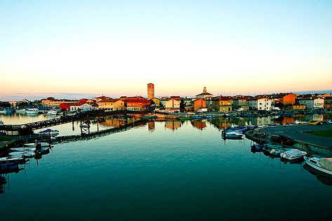 Marano Lagunare (Lagoons), Italia. Quaint and beautiful.