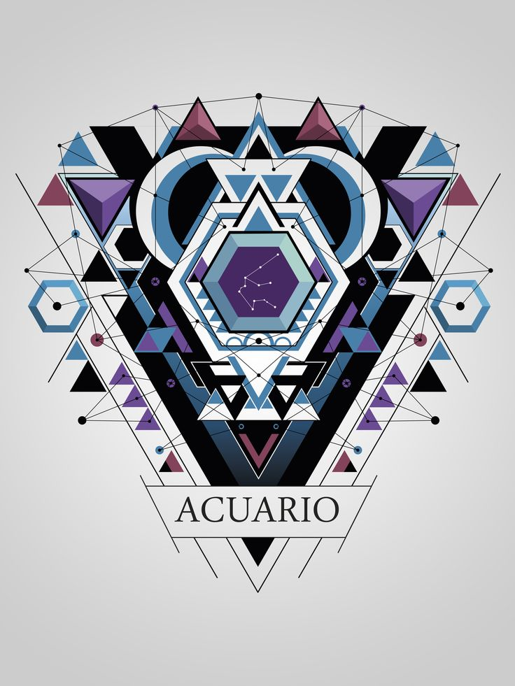 72 best mi signo acuario images on pinterest zodiac - Acuario de diseno ...