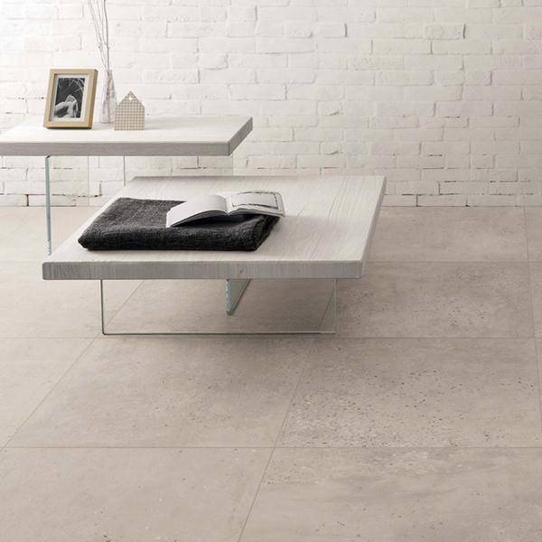 Fioranese Concrete Light Grey Porcelain Floor And Wall Tiles For The Bathroom Living Room Kitchen Home And Office Wall And Floor Tiles Flooring Tiles