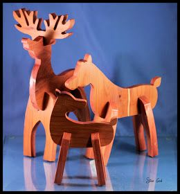 Wooden Reindeer Pattern Woodworking Projects Plans