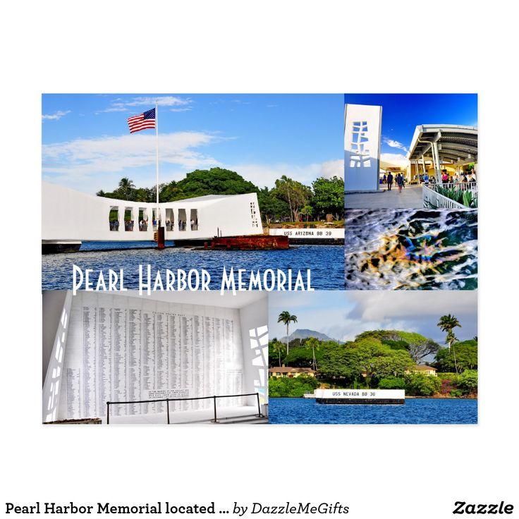 Pearl Harbor Memorial located in Honolulu, Hawaii