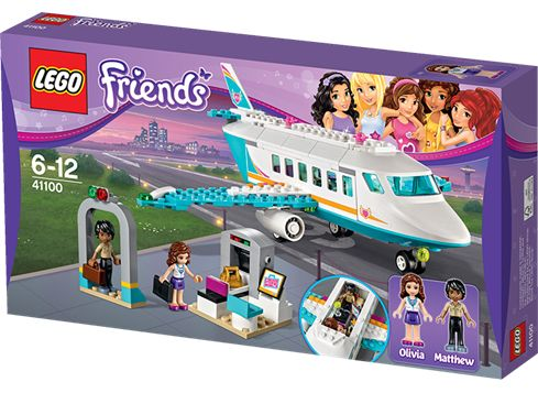LEGO FRIENDS 41100 Heartlake privat-jetfly