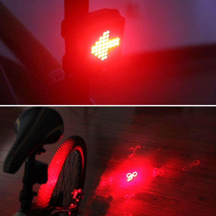 XANES STL-01 64 LED 80LM Intelligent Automatic Induction Steel Ring Brake Safety Bicycle Taillight with Infrared Laser Warning Waterproof Night Light USB Charging Sale - Banggood.com