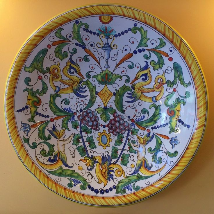 18 Best Images About Italian Hand Painted Pottery On