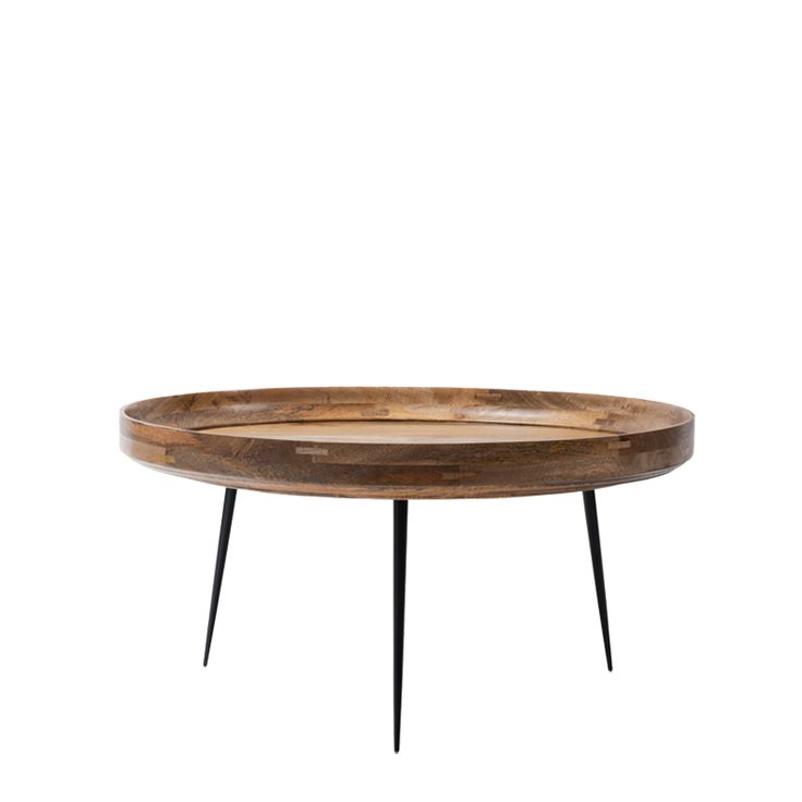 Superb Mater Bowl Table By Ayush Kasliwal In Sustainably Harvested Natural Mango  Wood With Steel Legs. Good Looking