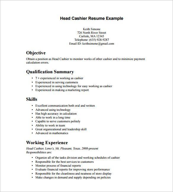 Free Printable Word & PDF