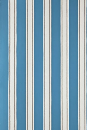 Block Print Stripe stairs