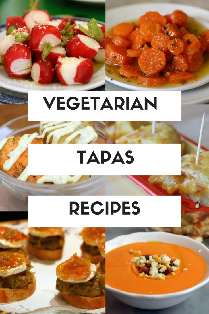 People think there are no vegetarian tapas in Spain but they are so wrong! Here are 6 of my favorite vegetarian tapas recipes, all perfect for summer! http://spanishfood.about.com/od/vegetariantapasrecipes/tp/6-Vegetarian-Tapas-Recipes-for-Summer.htm