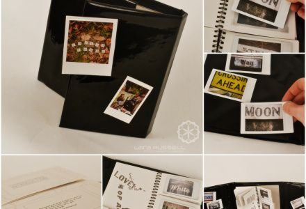 Instant Film Journal - focus on typography and creating unusual phrases.