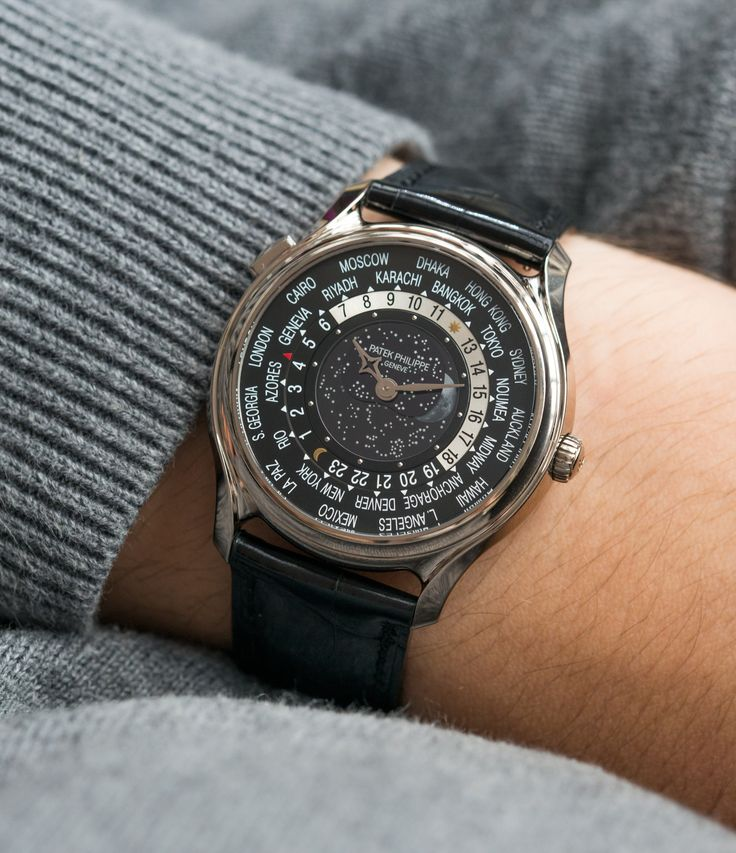 Patek Philippe Worldtimer Moonphase 5575G 175th Anniversary watch at A Collected Man London
