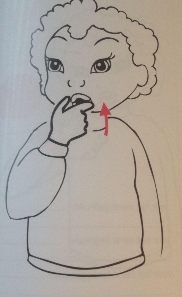 Babygebaren - Koekje
