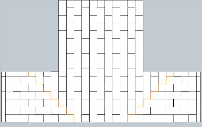awesome pattern for switching direction redesign pinterest subway tile patterns home and we