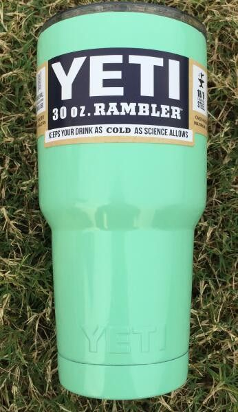 Don't forget your Yeti. Up.  It's a must on those hot days.  Without it you're letting your drink get watered down.