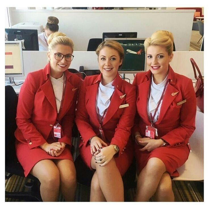 "Video footage showed the stewardesses arguing with the two men for over an hour after they had successfully separated them. Senior flight attendant Michaela Jones (far left) said later: ""They were arguing that they did not need to be restrained, but fighting on an airplane is a serious offence."" The men did accompany the cabin crew to the rear of the plane, but it took another 20 minutes of negotiations before they agreed to be tied up. ""The fact we were all women did not help."" added…"