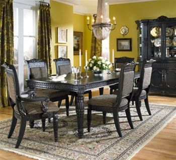 Lowest Prices On Discount Britannia Rose Dining Set Ashley Furniture Buy In A Group And Save More