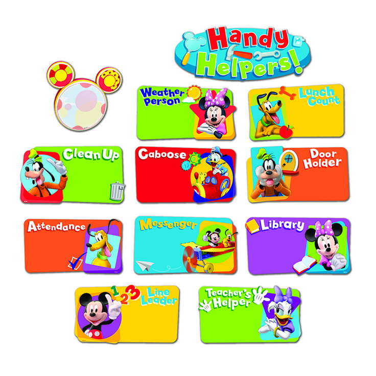 Mickey Mouse Clubhouse Handy Helpers Job Chart Mini