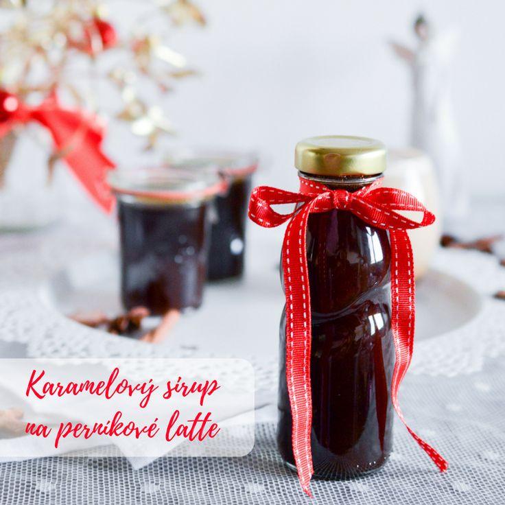 SUGARTOWN: Karamelový sirup na perníkové latte - Salted Caramel Gingerbread Syrup