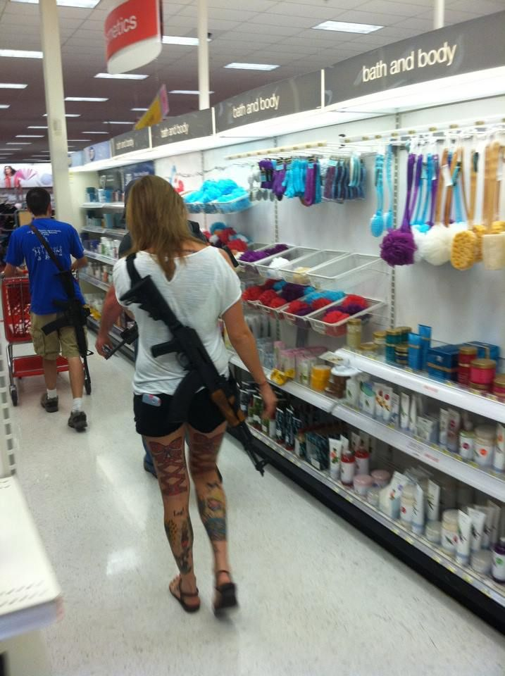 Open carry at a Target in Temple, Texas. #liberty ...