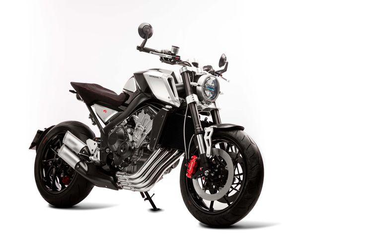 Honda CB4 Concept by Honda Europe