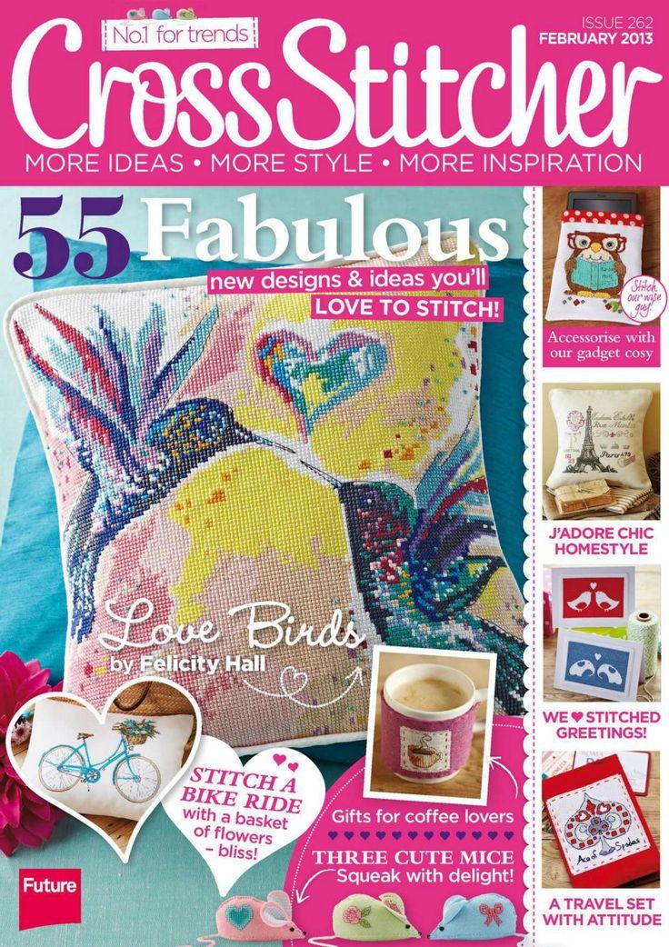 Cross Stitcher Magazine - February 2013 262 - CrossStitcher