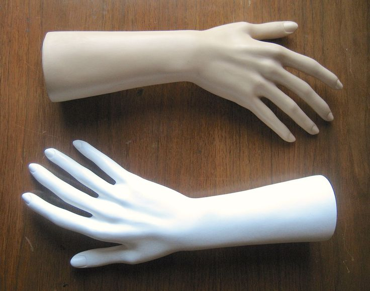 One Female Mannequin Hand Form