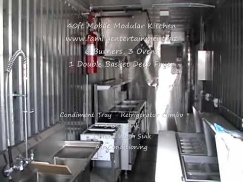 Merveilleux Mobile Kitchen Rental   Temporary Mobile Kitchen For Rent
