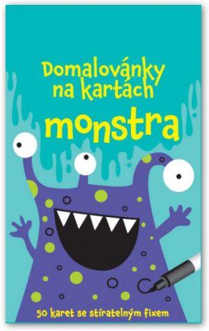 Domalovánky na kartách – Monstra