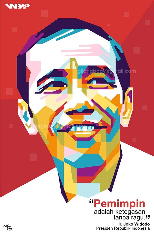7th Indonesia's President in WPAP | More info/ order, feel free to contact me on: gilangbogy@gmail.com