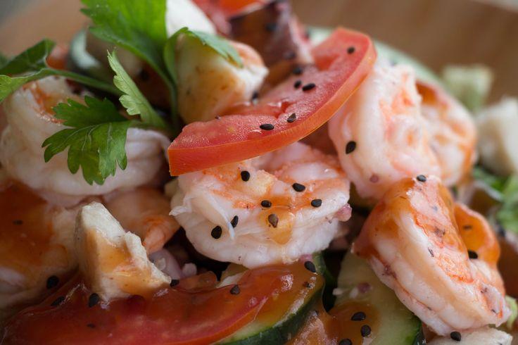 Creative and delicious dinner with shrimps. Food. Ideas. Photography. Azul Restaurant at #GrandVelas #RivieraNayarit