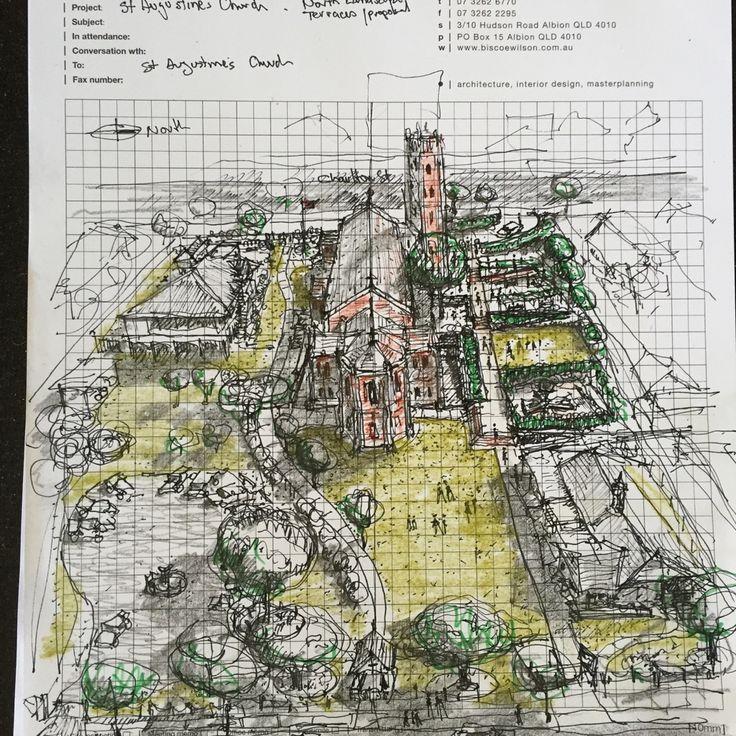 St Augustine's Church Hamilton-Landscape proposal