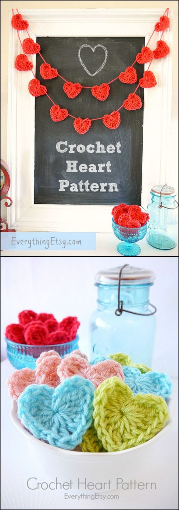 20 Amazing Free Crochet Patterns That Any Beginner Can Make---Free Crochet Heart Pattern