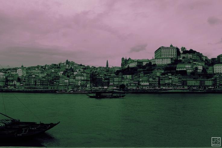 HARD DARK SATURATION   - photoshop art [Oporto, Portugal 2012]