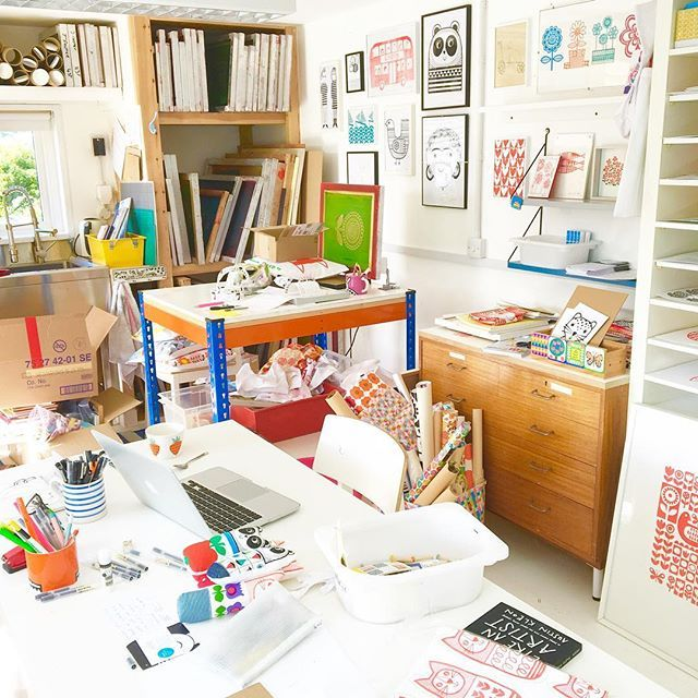 This is what happens when you decide to have a clear out and become more of a minimalist! You realise you've been a maximalist! Will show you how it looks after the culling! #becomingaminimalist #thechaos #culling #sortingclutter #messystudio #organizedchaos #