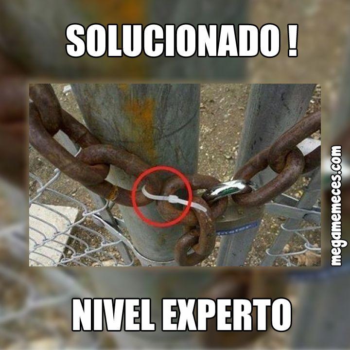 Mira ... hay solución para todo !!