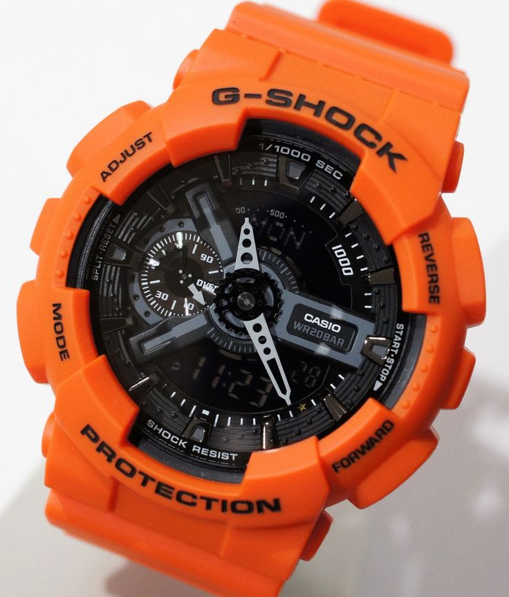 gshock orange special edition classic series jewelry