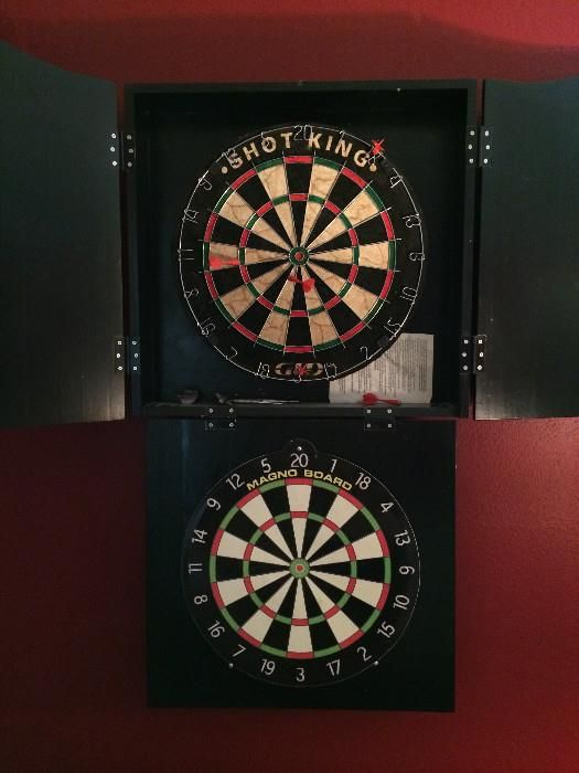 Dart boards with doors that close  New Divide & Conquer sales starting this Thursday, August 7-9, 2014; check out the details here:  http://divideandconquerofeasttexas.com/nextsales.php  #estatesales #consignments #consignment #tyler #tylertx #tylertexas #organizing #organizers #professionalorganizer #professionalorganizers #movingsale #movingsales #moving #sale #divideandconquer #divideandconquerofeasttexas #divideandconquereasttexas #marthadunlap #martha #dunlap