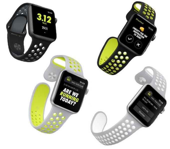 Умные часы Apple Watch Nike можно будет купить начиная с 28 октября