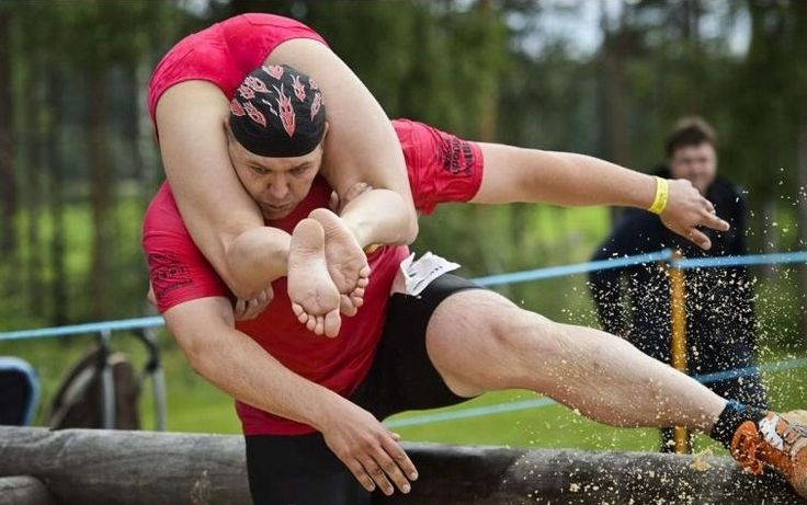 Wife Carrying World Championships, Sonkajärvi , Finland 2013