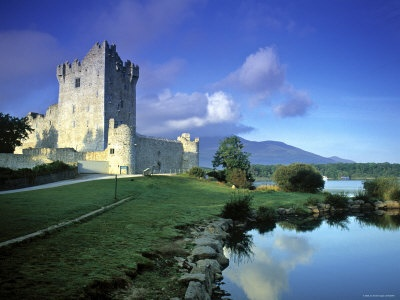 Ross Castle - IrelandFamous Castles, Ross Castles, County Kerry Ireland, Buckets Lists, Peter Adam, Ireland Photographers, Favorite Placesspac, Castles Ireland, Photographers Prints