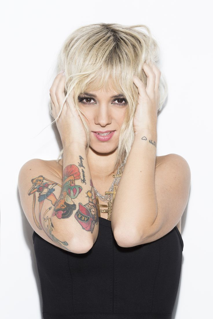 Aliz e alysee jacotey pinterest blondes for Anthony french tattoo
