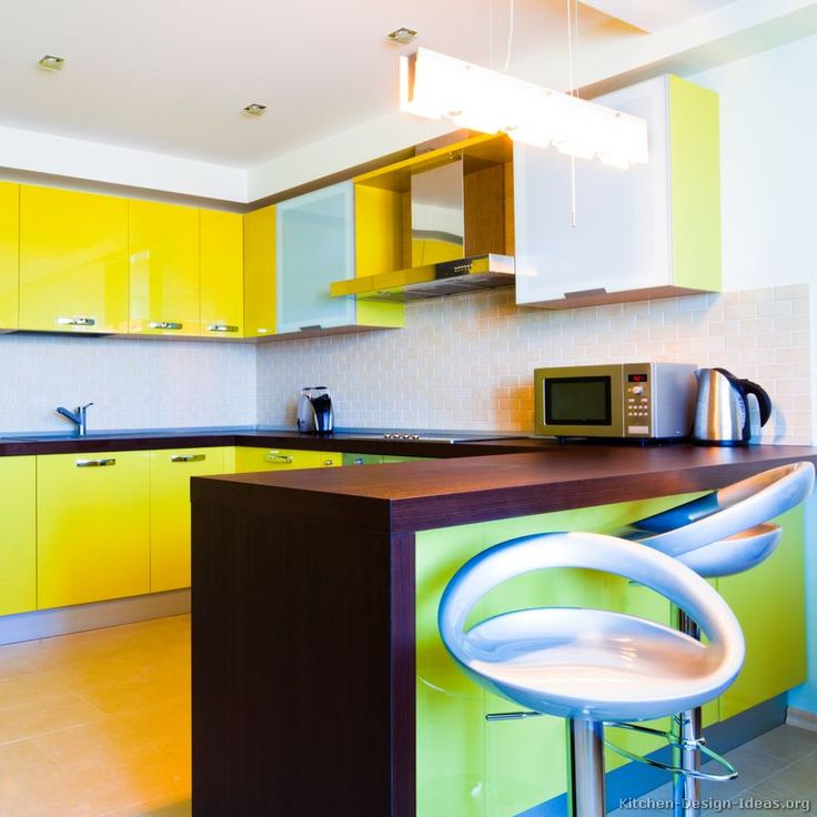 Best 114 Best Yellow Kitchens Images On Pinterest 640 x 480