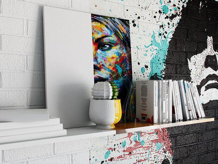 Quarto colorido minimalista Sunday Room Por enquanto o Sunday Room é apenas um conceito vanguardista concebido em 3D. Mas se ele se tornasse real, de que lado você ficaria?