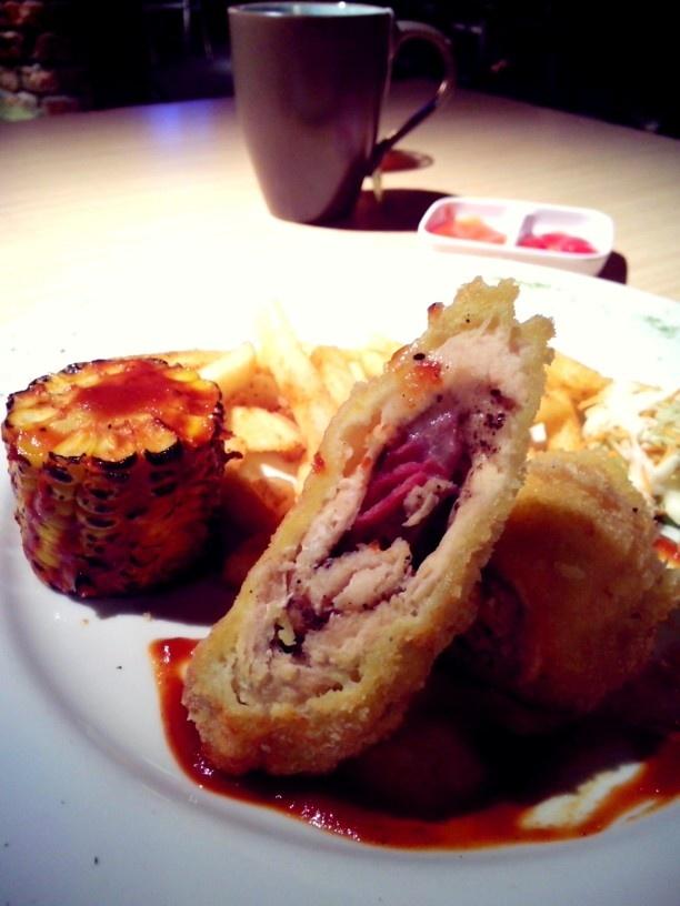 Lava Lounge - Chicken steak Address: Big Box Complex Jalan Sumatera No. 40, Surabaya