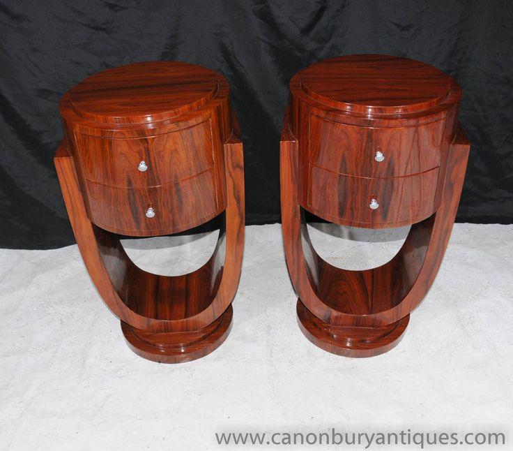 art deco furniture 1920s. artdecofurniture pair art deco nightstands bedside chests tables 1920s furniture y