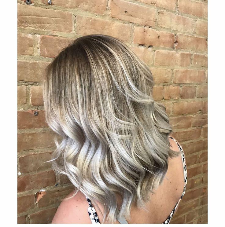 #balayage #ombre #blondehair #blondebalayage @ravenskylar_hair