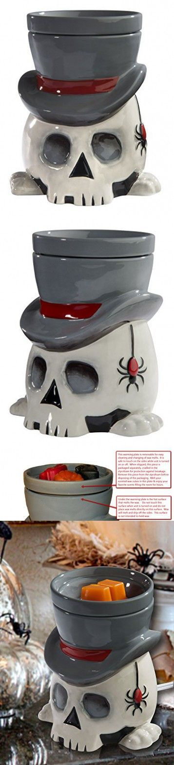 The Undertaker Horror Style Wax Warmer by HalloweenForevermore.com